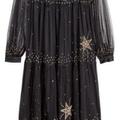 For Sale: H&M sheer mesh black dress. Size 16