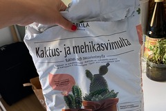 Selling: Cactus soil (nearly full bag)