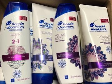 Liquidation/Wholesale Lot: 18 Head & Shoulders Shampoo and Conditioner