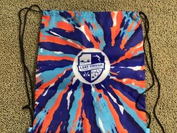 Selling A Singular Item: Lake Owego Camp drawstring backpack