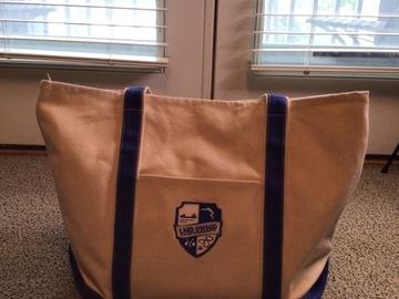 Selling A Singular Item: Lake Owego Camp Canvas tote bag