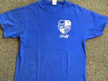 Selling multiple of the same items: Lake Owego Camp Staff T-shirt Size Medium