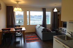 Renting out: 40m² bright fully furnished modern studio with good view.