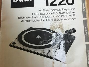 Faire offre: Dual 1226
