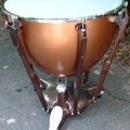 """Selling with online payment: LUDWIG 29"""" pedal tympani w/ tuning gauge, and cover"""