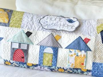 Class : Home Sweet Home Machine Embroidery Class