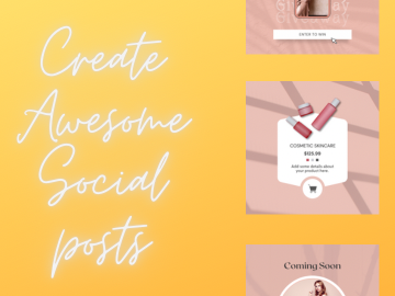 Pay per project: Create branded content for your social media channels