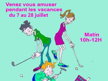 Actualité: Stages de golf jeunes