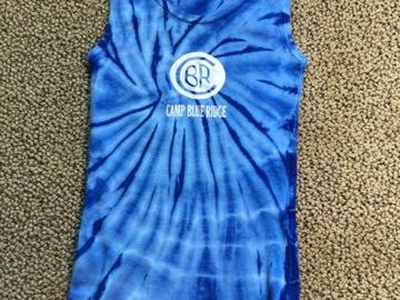 Selling A Singular Item: Blue Ridge tie dye tank top
