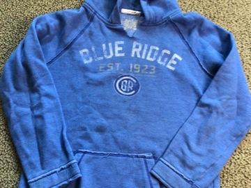 Selling A Singular Item: Blue Ridge hooded pullover sweatshirt