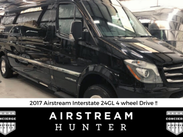 For Sale: 2017 Airstream Interstate 24 GL - 4WD - Immaculate