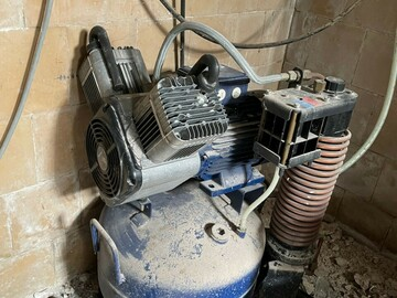 Gebruikte apparatuur: Durr compressor