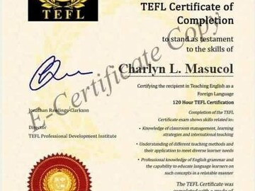 Offering with online payment: ESL TEACHER FOR 2 YEARS