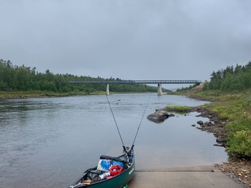 Renting out (by week): Mad River Journey TT 156 kanootti