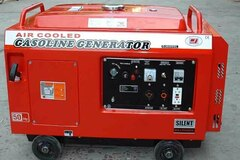 Renting out equipment (w/o operator): Air-cooled silent generator set