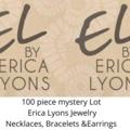 Liquidation/Wholesale Lot: 100 pcs Mystery Lot- Erica Lyons Jewelry - Necks, Bracelets, Ears