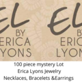 Liquidation/Wholesale Lot: 50 pcs Mystery Lot- Erica Lyons Jewelry - Necks, Bracelets, Ears