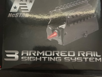 Selling: NcStar 3 Armored Rail Sighting System