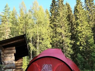 Renting out (by week): 4 vuodenajan teltta Bergans Helium 3 hlö Dome