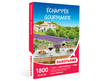 """Vente: Coffret Dakotabox """"Échappée gourmande"""" (89,90€)"""