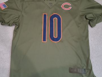 Selling A Singular Item: Mitch Trubisky #10 Salute to Service jersey