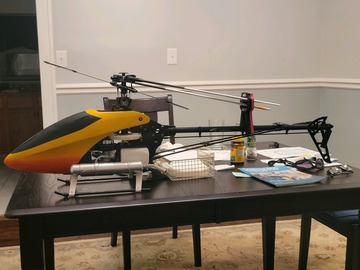 Give Aways:  Free to a good home: Aeolus 50 3d helicopter (New) O.S. 50 ($1,100.00)