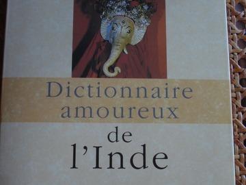 Vente: Dictionnaire amoureux de l'Inde - J-C Carrière - Plon