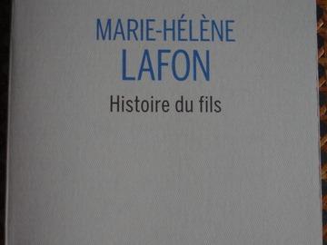 Vente: Histoire du fils - Marie-Hélène Lafon - Buchet/Chastel