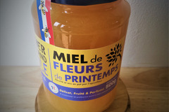 Les miels : Miel de fleurs de printemps - 500g