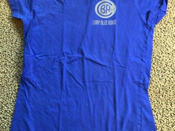 Selling A Singular Item: Blue Ridge camp shirt size youth small