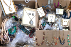 Liquidation/Wholesale Lot: 10 LBS MYSTERY BOX OF ASSORTED JEWELRY
