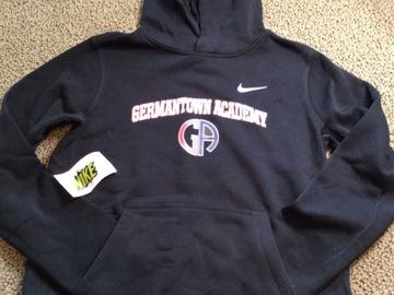 Selling A Singular Item: Germantown Academy Nike Hooded Pullover Sweatshirt
