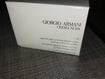 Venta: Giorgio armani crema nuda supreme glow tinted cream shade 01