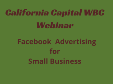 Announcement: Facebook Advertising for Small Business
