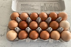 Selling Without Online Payment: Selling farm fresh brown eggs