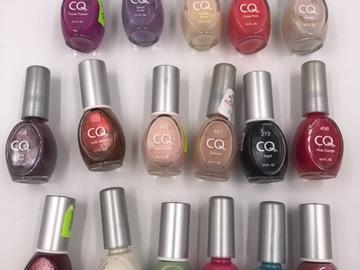 Liquidation/Wholesale Lot: 60 CQ Nail Polish