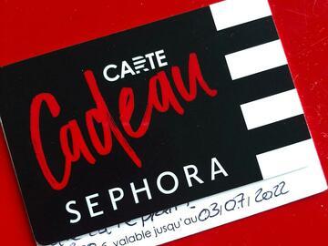 Vente: Carte cadeau Sephora (200€)