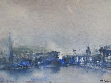 Sell Artworks: Blue Stockholm
