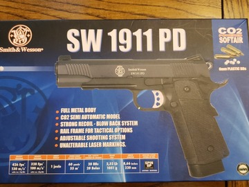 Selling: S&W 1911 PD CO2 Airsoft Pistol