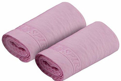 Liquidación / Lote Mayorista: Pink Set Of 2 Absorbent Snap Cooling Towels – Only $4.00/Pack