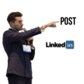 Make a post: I will post you your content on my LinkedIn Profile