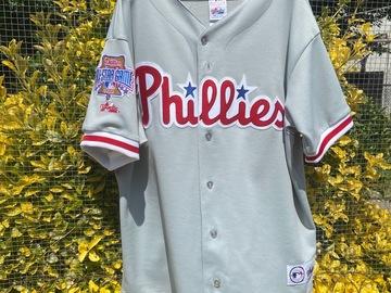 Selling A Singular Item: Vintage Majestic Philadelphia Phillies 1996 All Star Game Jersey