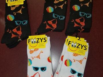 清算批发地: Foozies Socks. 10 pair. Beach theme