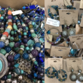 Liquidation/Wholesale Lot: 10 lbs ERICA LYONS JEWELRY LOT  some perfect, some tarnished