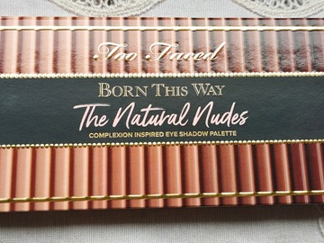 """Venta: Too faced """"the natural nudes'"""