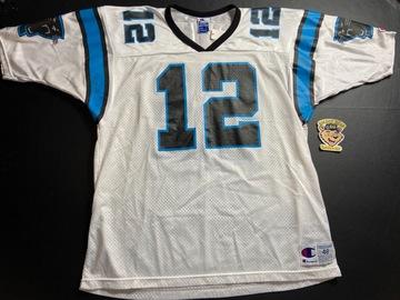 Selling A Singular Item: Vintage Champion Carolina Panthers Kerry Collins Jersey