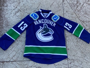 Selling A Singular Item: Vintage Reebok Authentic Vancouver Canucks Mats Sundin Jersey