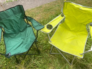 Renting out with online payment: Camping chairs