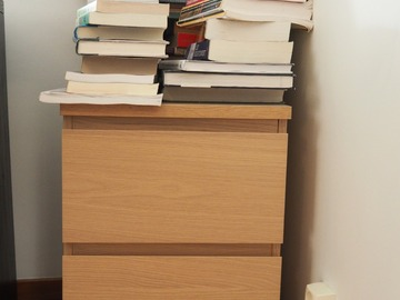 Selling: Drawer Unit – IKEA Malm drawer unit on casters.