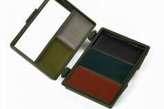Liquidation/Wholesale Lot: Camouflage Face Paint – 5 Color Camo Set